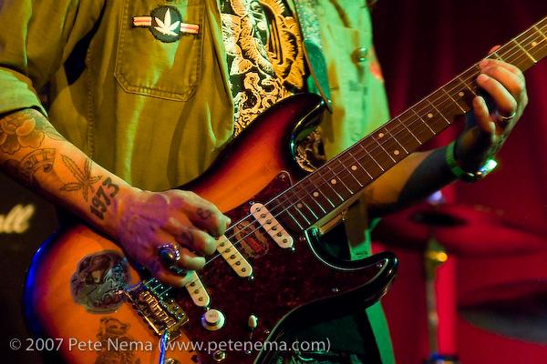 Dustin Davidson, bass, backing
